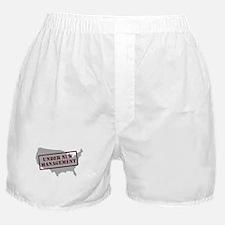 """Under New Management"" Boxer Shorts"