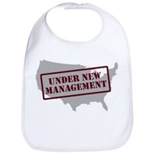 """""""Under New Management"""" Bib"""