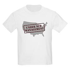 """""""Under New Management"""" T-Shirt"""