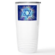 Radiant Magen David Travel Mug
