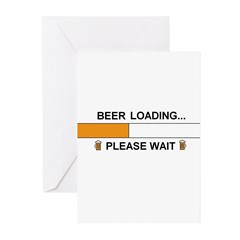 BEER LOADING... Greeting Cards (Pk of 20)