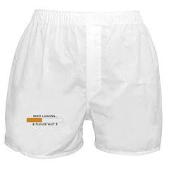 BEER LOADING... Boxer Shorts
