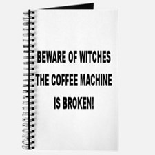Beware Of Witches Journal