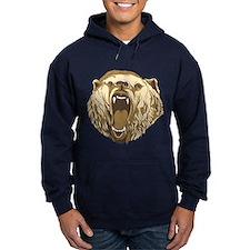 Bear Roaring Hoodie