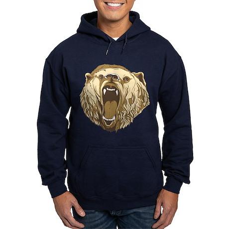 Bear Roaring Hoodie (dark)
