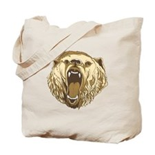 Bear Roaring Tote Bag