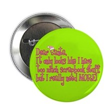 """More! 2.25"""" Button (10 pack)"""