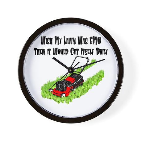 EMO Lawn Wall Clock