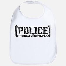 Police Proud Grandma Bib