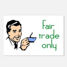 Fair Trade Only Postcards (Package of 8)