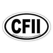 CFII Euro Oval Decal