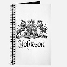 Johnson Vintage Family Crest Journal