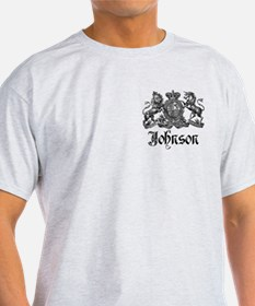 Johnson Vintage Family Crest T-Shirt