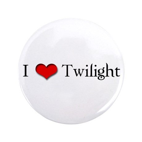 "I Love Twilight 3.5"" Button (100 pack)"
