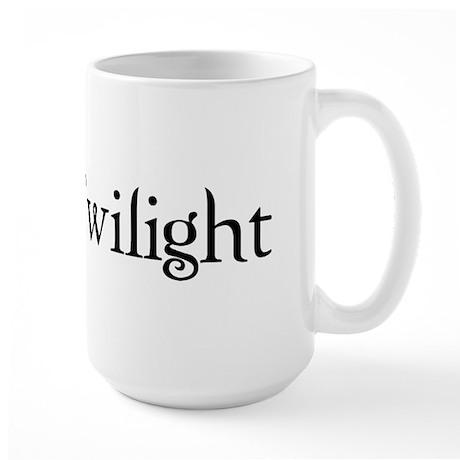 I Love Twilight Large Mug