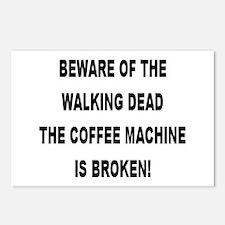 Beware Of The Walking Dead Postcards (Package of 8