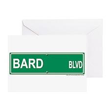Bard Blvd Greeting Card
