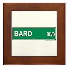 Bard Blvd Framed Tile