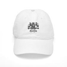 Griffin Family Name Vintage Crest Baseball Cap