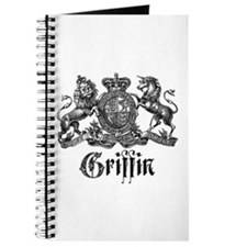 Griffin Family Name Vintage Crest Journal