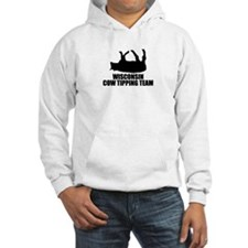 Wisconsin Cow Tipping Team Hoodie