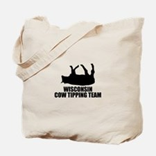 Wisconsin Cow Tipping Team Tote Bag