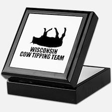 Wisconsin Cow Tipping Team Keepsake Box
