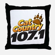 Cat Country Throw Pillow