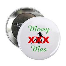 "Merry XXX-mas 2.25"" Button"