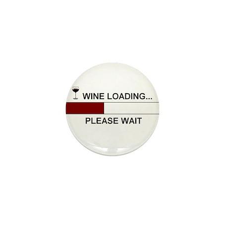 WINE LOADING... Mini Button (10 pack)