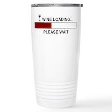 WINE LOADING... Travel Mug