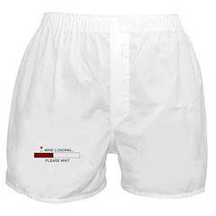 WINE LOADING... Boxer Shorts