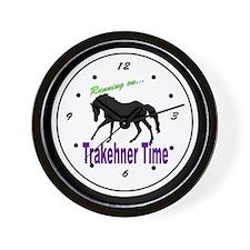 Trakehner Horse Wall Clock