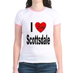 I Love Scottsdale (Front) Jr. Ringer T-Shirt