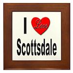 I Love Scottsdale Framed Tile