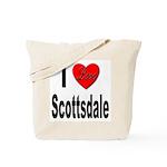 I Love Scottsdale Tote Bag