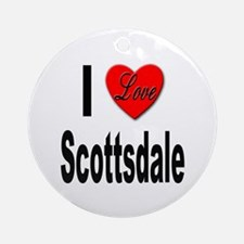 I Love Scottsdale Ornament (Round)