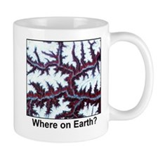 Himalayas Paint Border Mugs