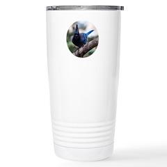 Steller's Jay Hollering Travel Mug