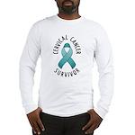 Cervical Cancer Survivor Long Sleeve T-Shirt