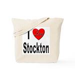 I Love Stockton Tote Bag