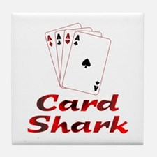 Card Shark Tile Coaster