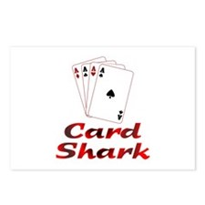 Card Shark Postcards (Package of 8)