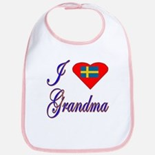 I Love My Swedish Grandma Bib