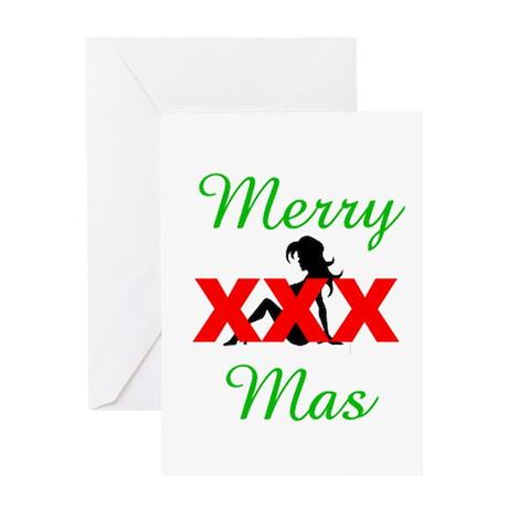 Merry XXX-mas Greeting Card