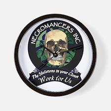 Necromancer's Inc. Wall Clock
