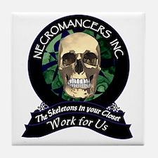 Necromancer's Inc. Tile Coaster