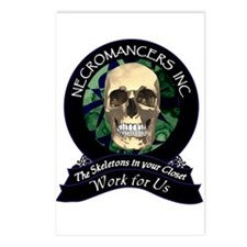 Necromancer's Inc. Postcards (Package of 8)