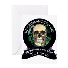 Necromancer's Inc. Greeting Card