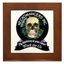 Necromancer's Inc. Framed Tile